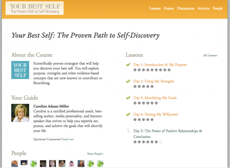 your-best-self-course-overview