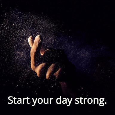 start-day-strong