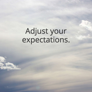adjust-expectations