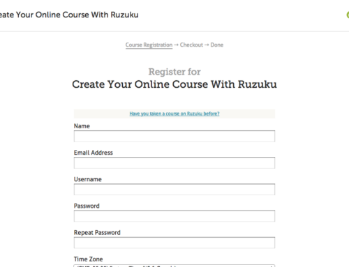 Customize your course's signup page!