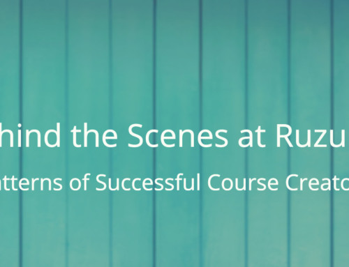 Behind the Scenes at Ruzuku: Patterns of Successful Course Creators